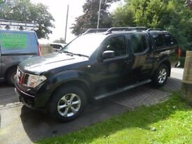 2007 nissan navara outlaw double cab pick up with eco top