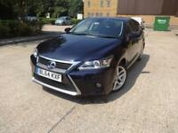 Lexus Ct 200h 200h Luxury 5dr (black) 2014
