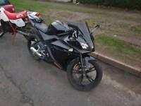 Yamaha yzfr125 12 months mot