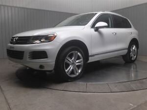 2013 Volkswagen Touareg 4MOTION MAGS 20 POUCES  TOIT PANO CUIR N