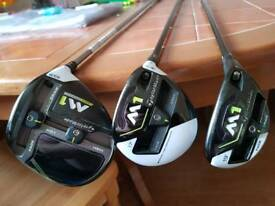 Taylormade 2017 driver 3wood hybrid set
