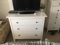 Ikea hemnes chest of draws