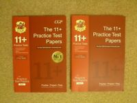 11 Plus CGP CEM Practice Test Papers – Verbal Reasoning, Comprehension, Maths, Non-Verbal Reasoning