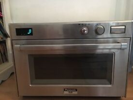 Panasonic pro2 commercial micro wave oven