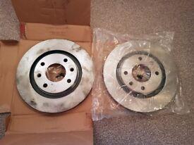 Ferodo Brake Discs Pair DDF192 (Peugeot / Citroen) 206