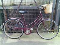 Ladies Town bike Raleigh Cameo classic