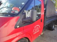 Ford transit tipper 2009. 58 reg. No vat