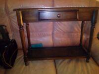 Vintage hallway table