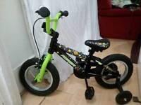 Kids children bike bicycle with stabilizer