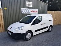DECEMBER 2011 PEUGEOT PARTNER L1 1.6 HDI VAN, 3 SEATS, 12 MONTHS PSV, SERVICED, TWO OWNERS