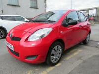TOYOTA YARIS 2009 1.0 T2 VVT-I 5dr - LOW INSURANCE - ONLY 41,468 MILES - fiesta polo clio corsa 2009