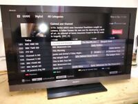 For sale Sony Bravia 40' LCD Full HD 1080p Freeview Tv