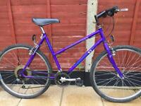 "Unisex adults Peugeot formula Hybrid bike. 20"" Frame. 26"" Wheels. Serviced"