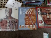 Human body textbooks