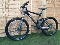 Carbon fibre Scott genius MC20 full suspension Enduro/Downhill bike, HIGH SPEX, SLX, FOX