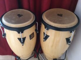 Inmaculate Set of Congas Percussion