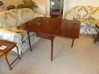 Fine 19th Century Mahogany Drop Leaf Table
