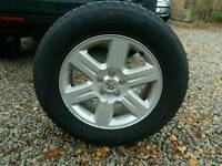 Land Rover Freelander spare wheel