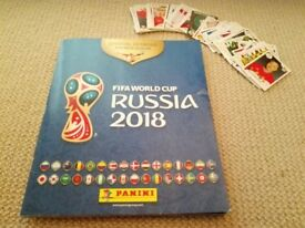 Pannini World Cup stickers - Russia 2018