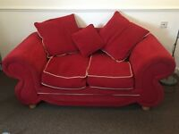 Free red sofa