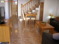 Costa Blanca, Spain. La Cinuelica, 2 bedroom townhouse, sleeps 4, English TV, A/C and Wi-Fi (SM034)