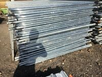 New heras style site security fencing panels temporary fencing
