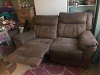 Two seater sofa x2... recliner ANY OFFER considered