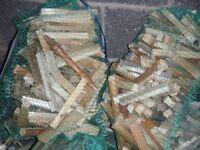 Nets of sticks/kinderling
