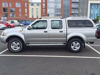 NISSAN NAVARA 4X4 D22 WITH REMANUFACTURED ENGINE 6 MONTHS WARRANTY 12 MONTHS MOT