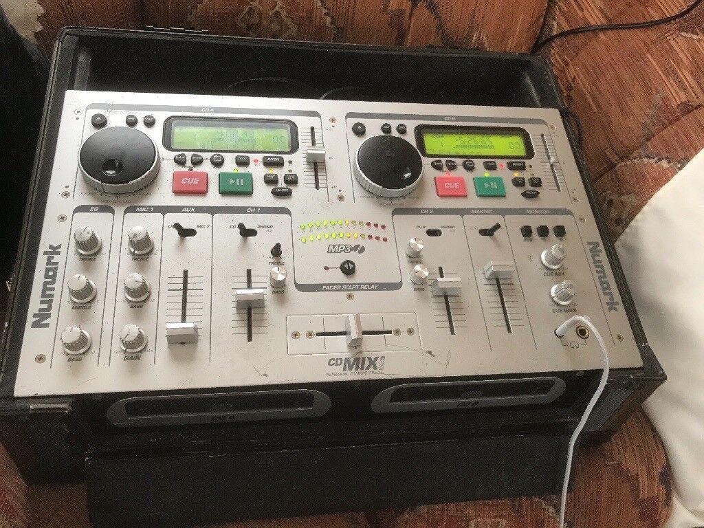 Numark CD Decks/mixer