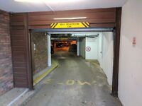 Secure underground parking in Notting Hill, W8
