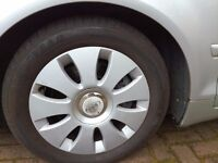 "Set of 4 16"" Audi 5x112 A3 A4 A6 Alloy wheels with excelent tyres."