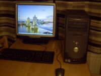 DELL DIMENSION 4600 Desktop pc complete set up £30