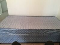 Single divan bed - collect only