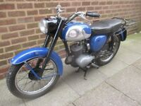 BSA Bantam 1967 D10 Classic British Bike Running