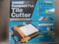 plasplugs compact plus tile cutter with diamond blade. cuts ceramic, terracotta etc upto 15 mm thick