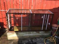 Greenhouse/cold frame for sale. Collection only.