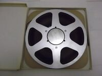 "Scotch 150 extra play 3600ft polyester 1/4"" tape on 10.5"" NAB aluminium spool"