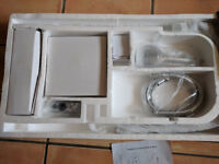 Cassellie Dalton SK002n chrome thermostatic shower kit valve with riser and diverter