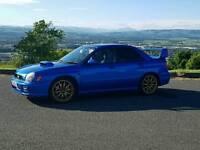 Subaru imperza wrx sti jdm import 320bhp factory foregd six speed not bmw audi merc transit