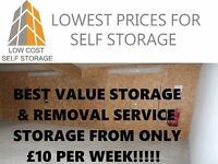 Removals, Belfast Storage & Self Storage. Best Value storage available Man and van also available