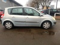 IDEAL FAMILY WORK HORSE SILVER MET 54 PLATE RENAULT SCENIC 1.6 FULL ONE YEAR MOT DRIVE AWAY £580.00