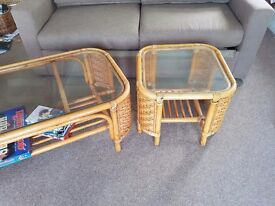 Pair (or sold singularly) coffee style tables