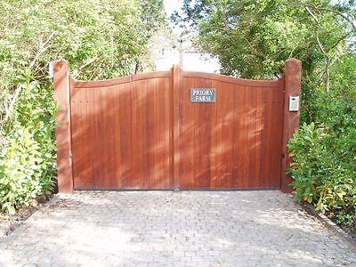 Hardwood Driveway Gates Made To Order
