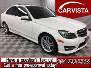 2014 Mercedes-Benz C-Class C300 4MATIC -PANORAMIC ROOF/XENONS-
