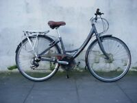 Ladies Hybrid/ Commuter Bike by Viking, Grey, Good Condition, JUST SERVICED/ CHEAP PRICE!!!!