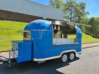 Type Approved Airstream Catering Trailer Burger Pizza Bar Coffee Van