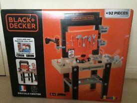 Black & Decker Bricolo Work Bench Centre with 92 accessories