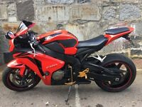 2009 Honda CBR 1000RR8 - Red & Black Good Condition - Long MOT - Lots of nice mods!