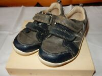 Boys Clarks Leather Shoes Size 6 1/2 G Infant